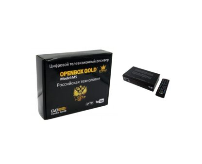 Цифровая приставка DVB-T2/C OpenBox Gold M5