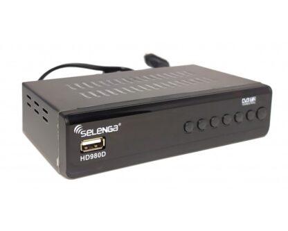 Цифровая приставка DVB-T2/C Selenga HD980D