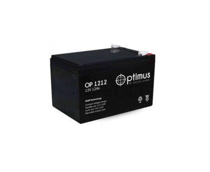 Аккумуляторная батарея Optimus OP-1212 12 В 12 А\ч