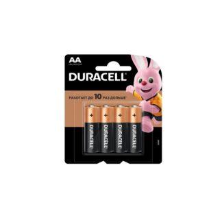 Элемент питания (батарейка) Durasell АА 4 шт. Alkaline
